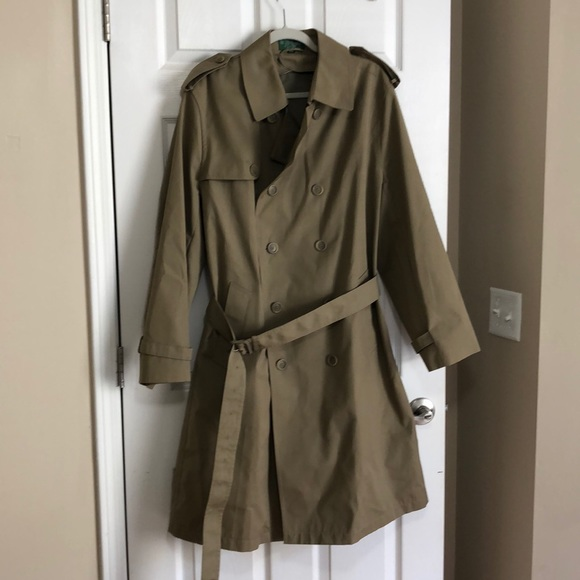 Hill & Archer Other - Men's Hill & Archer taupe trench coat